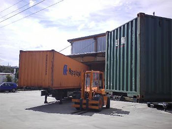 container 16